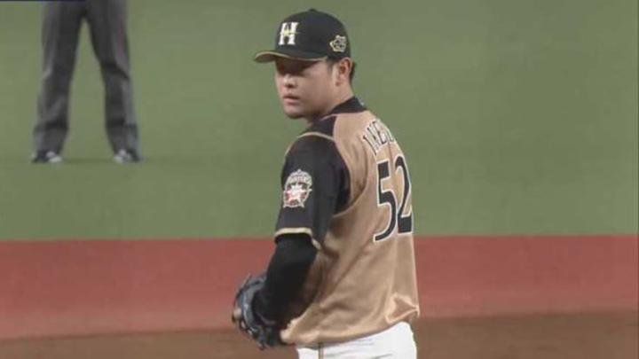 北海道日本ハムファイターズ・池田隆英投手(C)パーソル パ・リーグTV