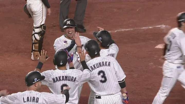 千葉ロッテ・佐々木千隼が2年ぶり勝利!清田育宏の満塁弾で圧勝