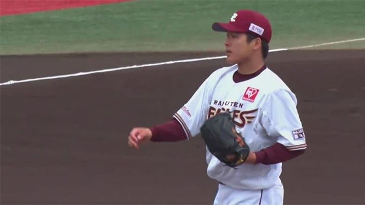 【ファーム】釜田佳直が6回3失点の力投を見せるも、打線の援護なく楽天が敗戦