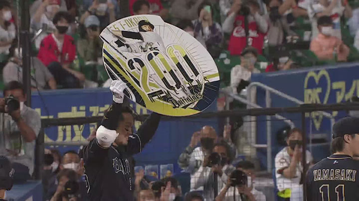 T-岡田の通算200号となる3ランでオリックスが逆転勝利! 山崎福也は7勝目をマーク