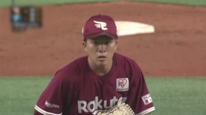 早川隆久が8回1失点で2勝目をマーク。黒川史陽が3試合連続適時打で鷲がカード勝ち越し