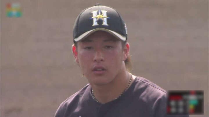 今季初の実戦に吉田輝星、河野竜生が先発! 北海道日本ハムの紅白戦で若手がアピール