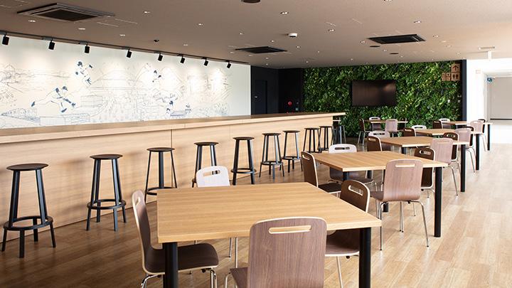 「グリーンフォレスト デリ&カフェ」店内の様子 写真提供:埼玉西武ライオンズ