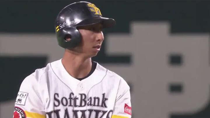 福岡ソフトバンクが福田秀平選手のソロで勝ち越し! 動画でプレイバック