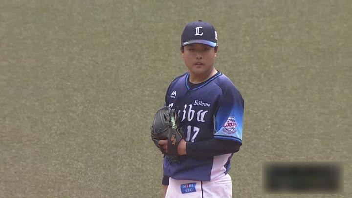 埼玉西武・松本航投手(C)パーソル パ・リーグTV