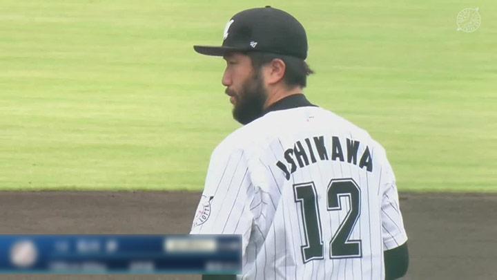 千葉ロッテマリーンズ・石川歩投手(C)パーソル パ・リーグTV