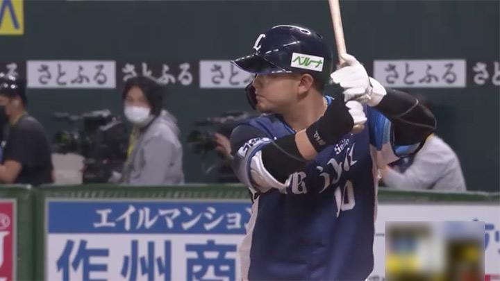 森友哉の同点弾で埼玉西武対巨人は引き分け。岸潤一郎はプロ初安打・初アーチをマーク