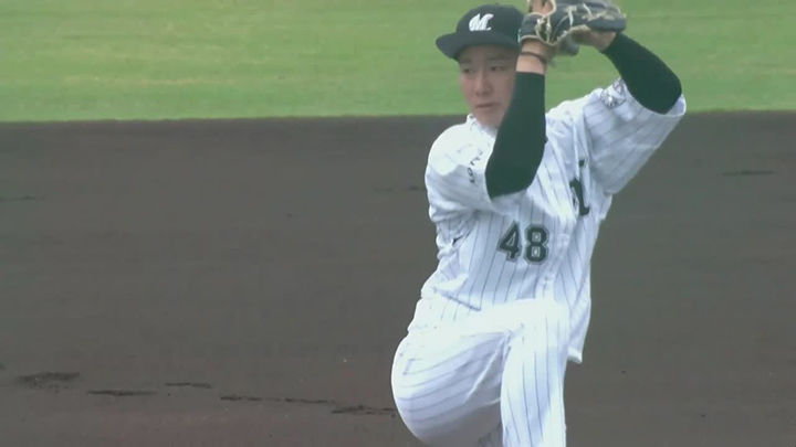 【ファーム】中村稔弥が7回3失点の好投も、8安打1得点とつながりを欠いた鴎が惜敗