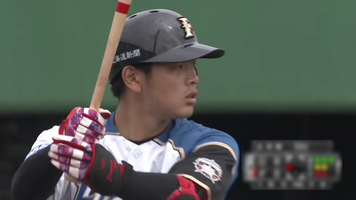 野村佑希が2安打3打点の活躍! リリーフ陣も好投した北海道日本ハムがオリックスに勝利