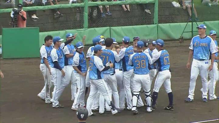 【ファーム】齊藤誠人がサヨナラ打。14投手が登板した接戦を埼玉西武が制す