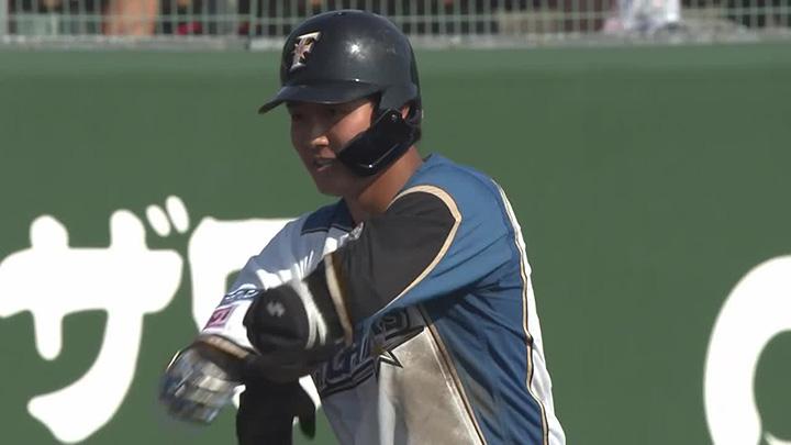郡拓也が逆転3点タイムリー含む2安打3打点の活躍で北海道日本ハムが勝利!