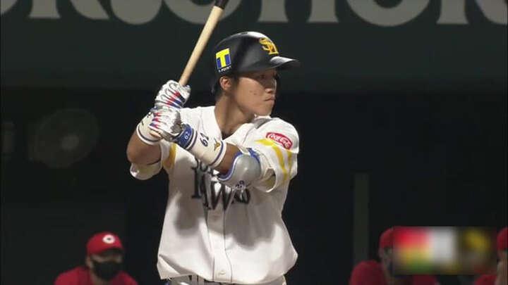 【ファーム】海野隆司、佐藤直樹のルーキーが2打点の活躍も、鷹が鯉に惜敗