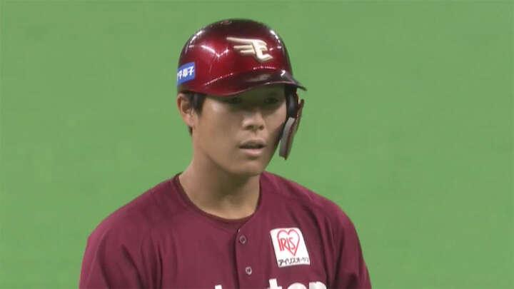 和田恋が適時打含む2安打! 則本昂大らも好投で楽天が北海道日本ハムに完封勝利