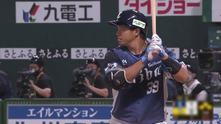 埼玉西武ライオンズ・呉念庭選手(C)パーソル パ・リーグTV