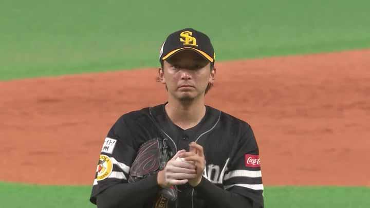福岡ソフトバンクが4投手の完封リレーで快勝。先発・東浜巨は7回無失点で今季4勝目