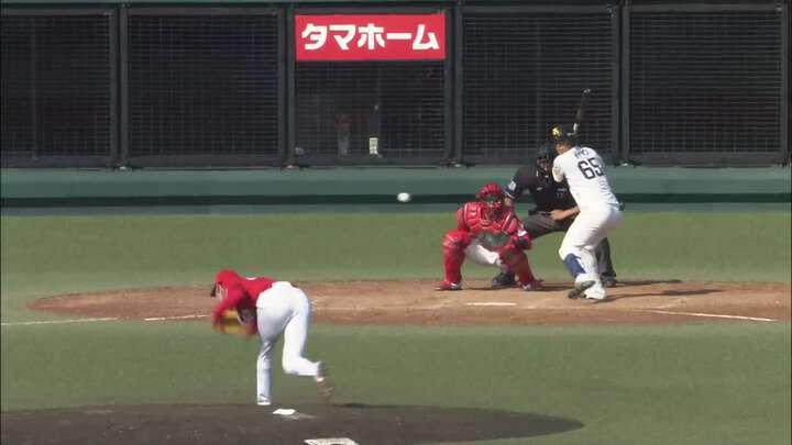 【ファーム】土壇場で九鬼隆平が同点打。鷹と広島の3戦目は引き分けに