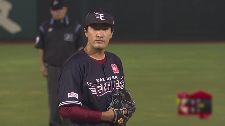 東北楽天ゴールデンイーグルス・弓削隼人投手(C)パーソル パ・リーグTV