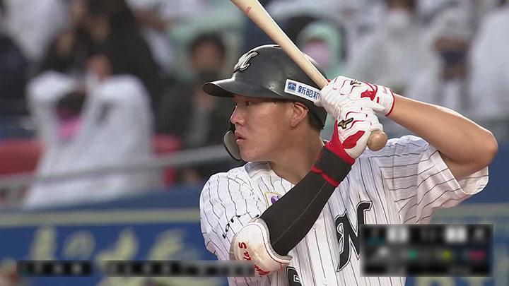 千葉ロッテ対北海道日本ハムは引き分けに。安田尚憲が4試合連続タイムリーを放つ