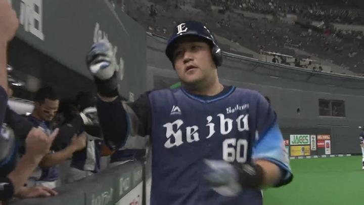 中村剛也が2本塁打でチームを勝利に導く! 松本航は7回98球無失点の好投で9勝目