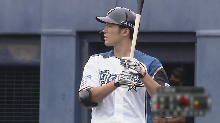北海道日本ハムファイターズ・片岡奨人選手(C)パーソル パ・リーグTV