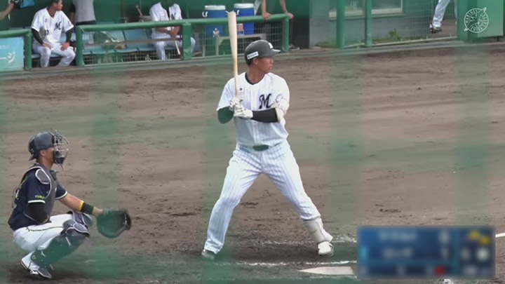 【ファーム】西川僚祐が2安打2打点! 完封リレーで千葉ロッテが3連勝