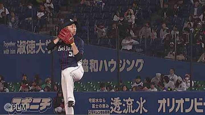 埼玉西武・伊藤翔がプロ初登板で無失点!