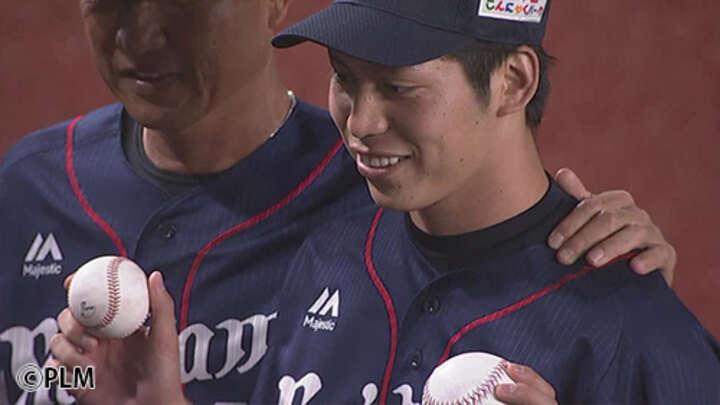 満塁から登板して流れをつかんだ。齊藤大将が救援登板でプロ初勝利