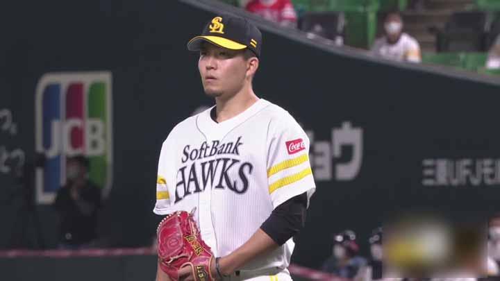 福岡ソフトバンク・千賀滉大が8回途中1安打無失点で9勝目! デスパイネは9号3ラン