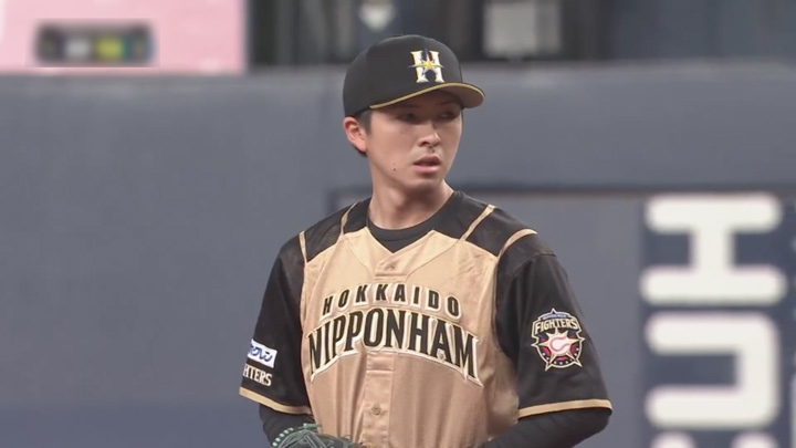 北海道日本ハムファイターズ・上沢直之投手(C)パーソル パ・リーグTV