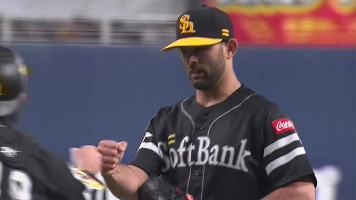 福岡ソフトバンクホークス・マルティネス投手(C)パーソル パ・リーグTV