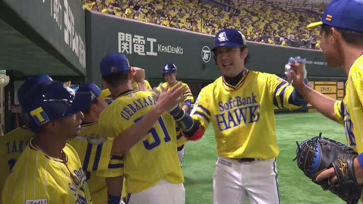 高谷裕亮が2安打4打点の活躍! 打線爆発の福岡ソフトバンクが5連勝を飾る