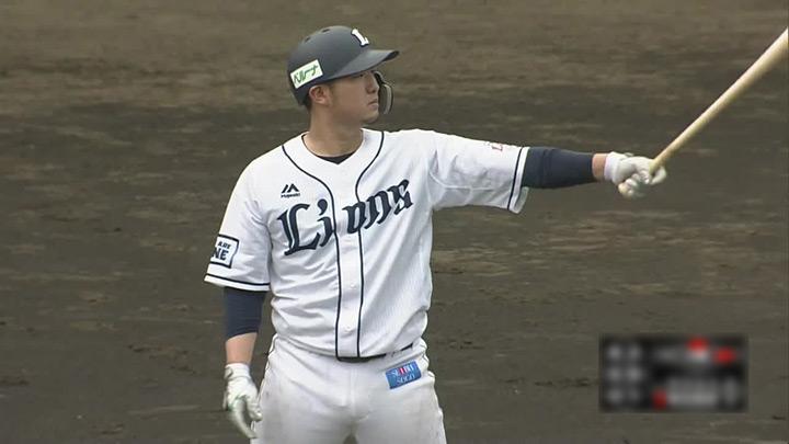 【ファーム】柘植世那の1号3ランで突き放した埼玉西武が勝利。浜屋将太は6回3失点の粘投