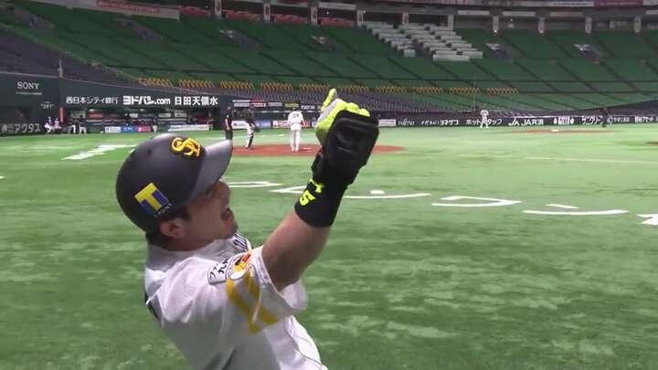 松田宣浩が先制ホームラン! C.スチュワート・ジュニアは一軍初登板で5回1失点の好投