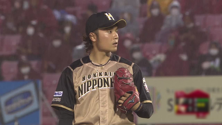 北海道日本ハムファイターズ・伊藤大海投手(C)パーソル パ・リーグTV