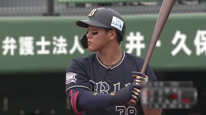 オリックス・バファローズ・来田涼斗選手(C)パーソル パ・リーグTV