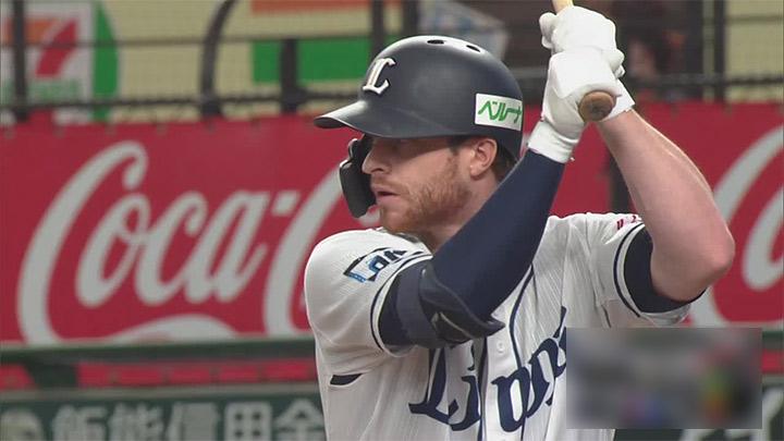 スパンジェンバーグが決勝3ラン。渡邉勇太朗も5回1失点の好投で埼玉西武が勝利