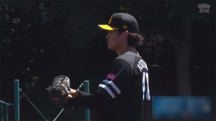 福岡ソフトバンクホークス・杉山一樹投手(C)パーソル パ・リーグTV