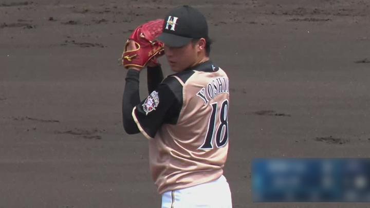 【ファーム】吉田輝星が6回6奪三振1失点で3勝目。投手陣の奮闘で北海道日本ハムが逃げ切り勝ち