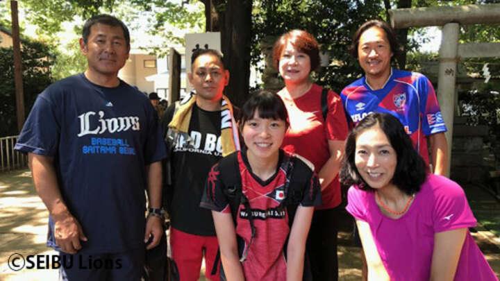 西武の田邊徳雄氏が聖花リレーとトークセッションに参加。縁ある地で ...