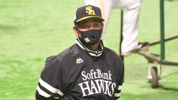 鷹・工藤公康監督が海野隆司のチーム1号に「いい音がしたな~」 14得点快勝にホクホク