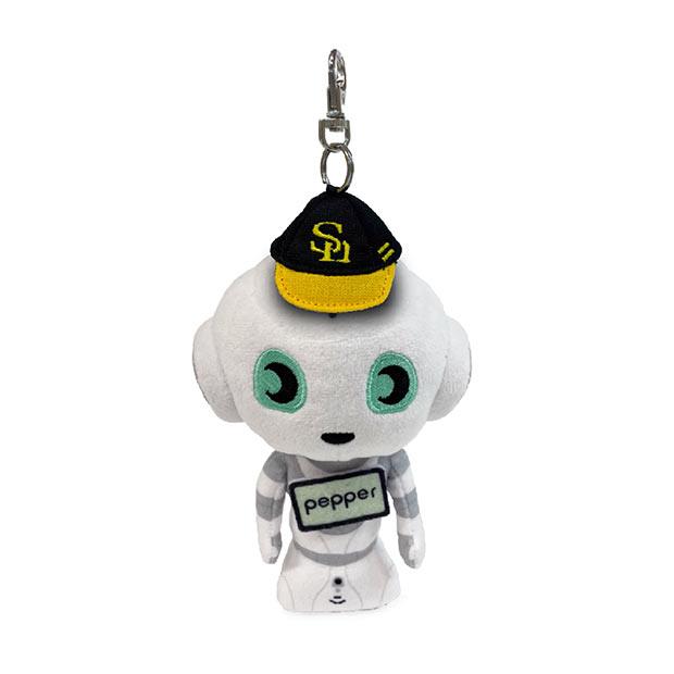 「Pepperマスコットキーチェーン」(2500円)(C)SoftBank HAWKS