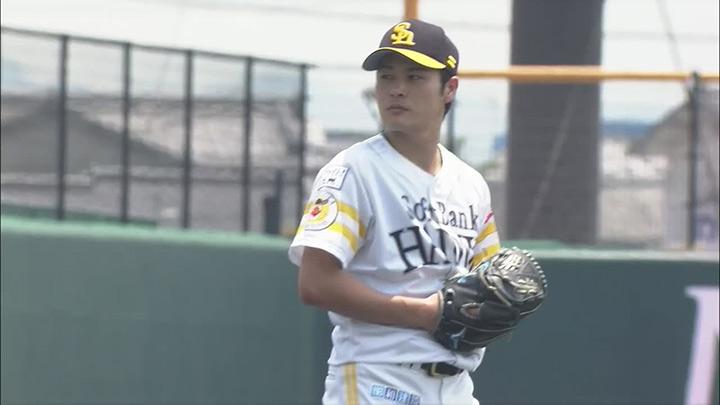 【ファーム】笠谷俊介が5回1安打7奪三振0封。打線が爆発した福岡ソフトバンクが快勝