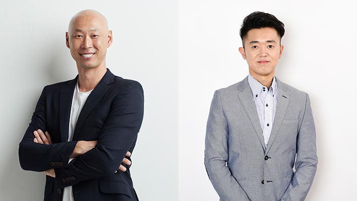第1弾ゲストの森本稀哲氏(左)とMCの南隼人氏(右)(C)PLM