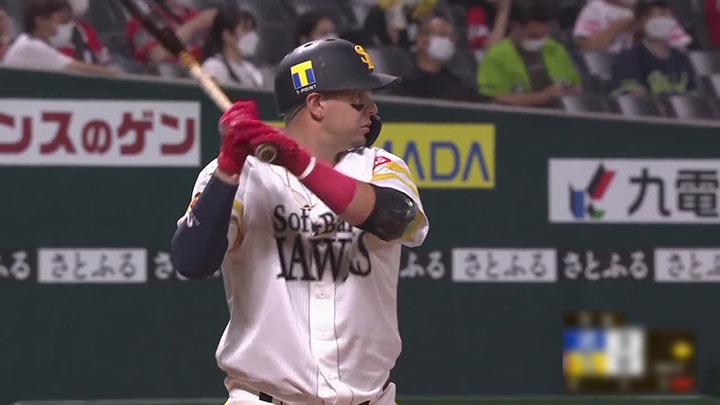 福岡ソフトバンクホークス・アルバレス選手(C)パーソル パ・リーグTV