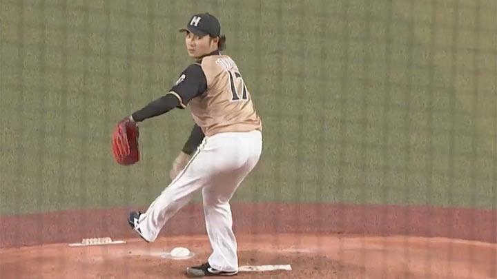 北海道日本ハム・伊藤大海投手(C)パーソル パ・リーグTV