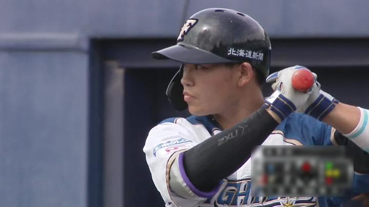 北海道日本ハムファイターズ・田宮裕涼選手(C)パーソル パ・リーグTV