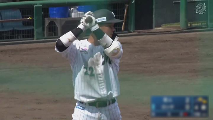 【ファーム】田村龍弘が復帰後初安打を放つが、打線がつながらず千葉ロッテが惜敗