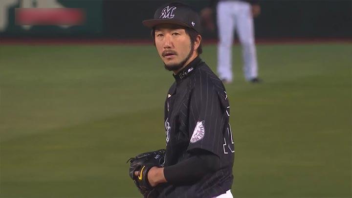今季初登板の石川歩が7回1失点の好投! 千葉ロッテが楽天とのカード初戦を制する