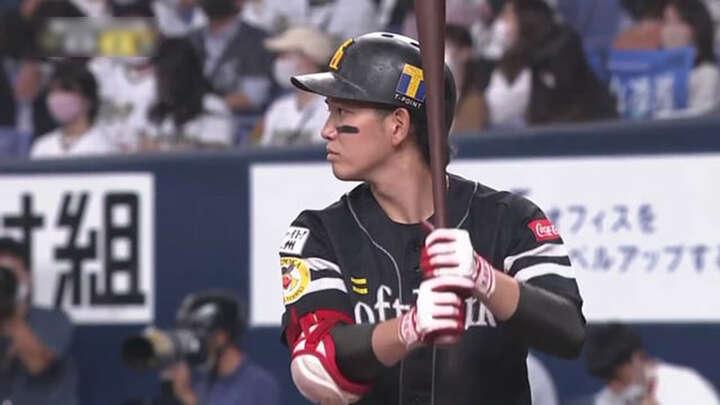 福岡ソフトバンクホークス・栗原陵矢選手(2020/10/13 B-H)(C)パーソル パ・リーグTV