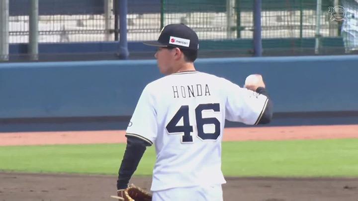 【ファーム】本田仁海が5回0封の好投! 完封リレーでオリックスが阪神に勝利